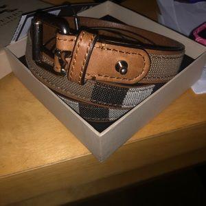 Burberry women's belt